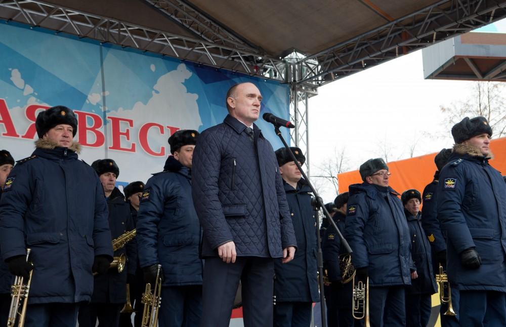 Напомним, 16 марта 2014 года за воссоединение с Российской Федерацией проголосовали более 95% жит