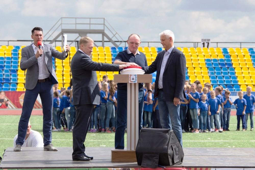 В торжественной церемонии открытия принял участие губернатор Челябинской области Борис Дубровский