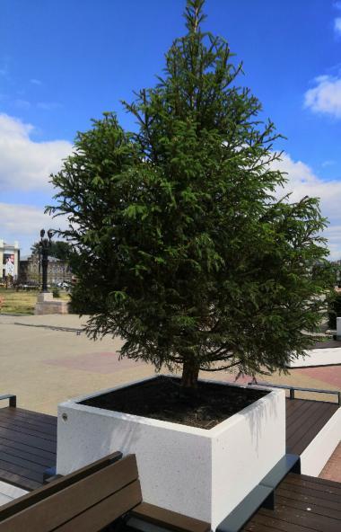 На челябинской Кировке снова отложены сроки окончания работ по восстановлению плиточного покрытия