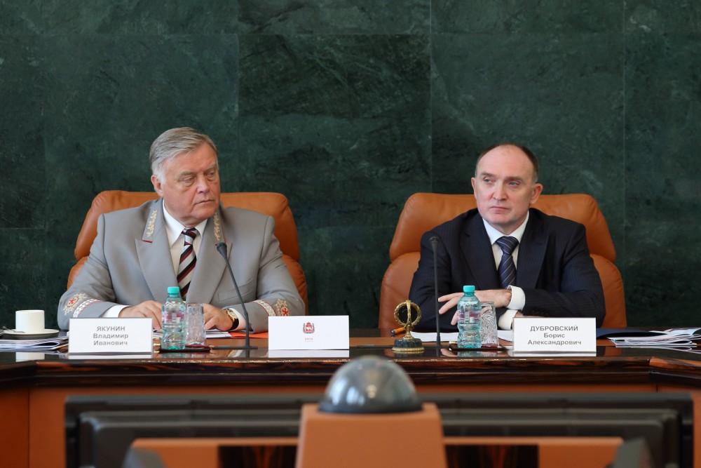 Совещание провели президент компании Владимир Якунин и Борис Дубровский. Глава региона нап