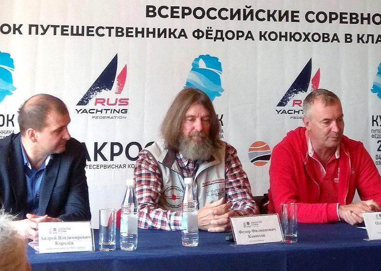 Известный российский путешественник Федор Конюхов 8 июня во время проведения тра