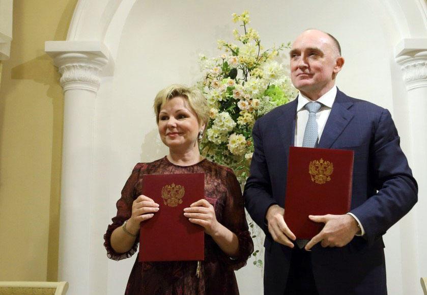 В четверг, 6 июля, губернатор Челябинской области Борис Дубровский и директор ис
