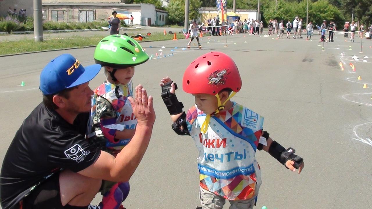 Фестиваль по роллер-спорту, организаторами которого выступила челябинская школа роллер-спорта «8