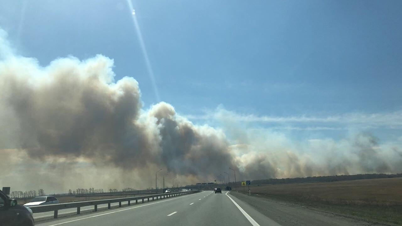 В Челябинской области в связи с пожарами и сильной задымлённостью полностью закрыты часть региона