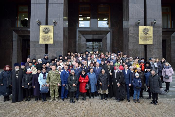 В канун Дня сотрудника органов внутренних дел в правительстве Челябинской области состоялся торже