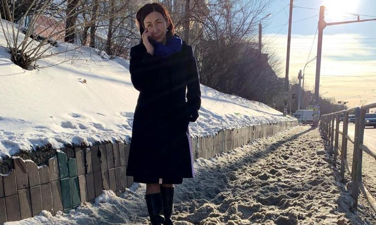Глава Челябинска Наталья Котова потребовала, чтобы дорожники активизировали работу по вывозу снег