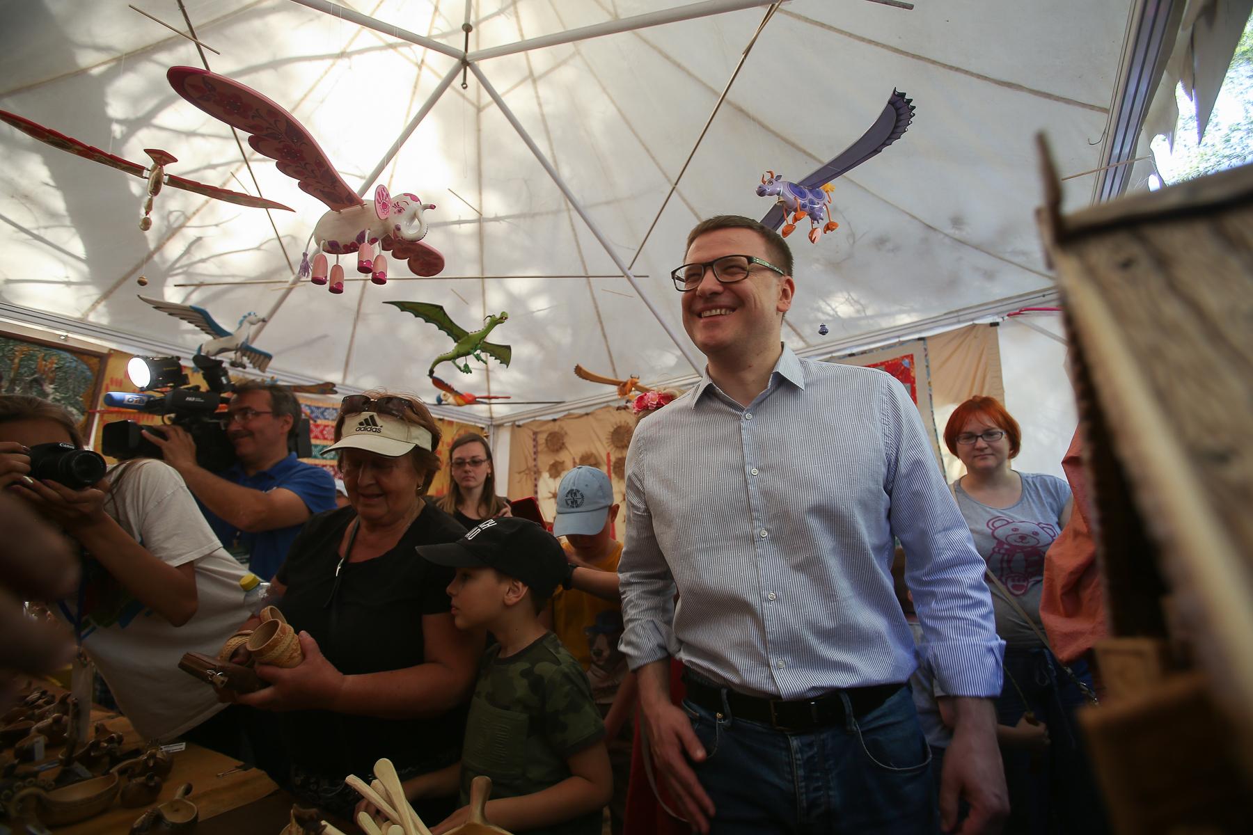 Порядка 40 тысяч человек посетили XXII всероссийский Бажовский фестиваль народного творчества, со