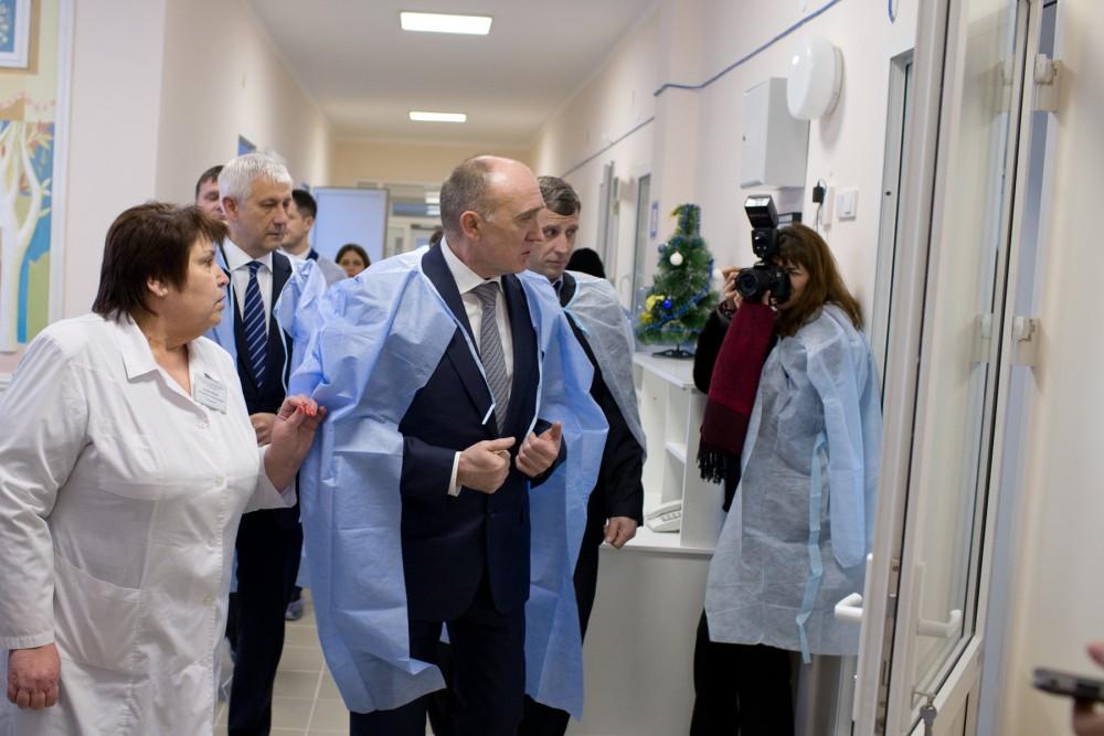 Как сообщили в пресс-службе губернатора, в 2017 году на реконструкцию больницы было выделено боле