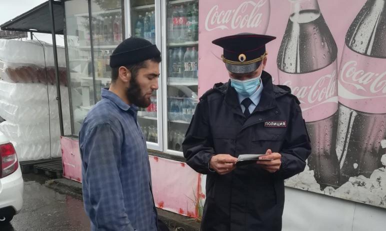 Сотрудники управления по вопросам миграции регионального полицейского главка совместно с представ