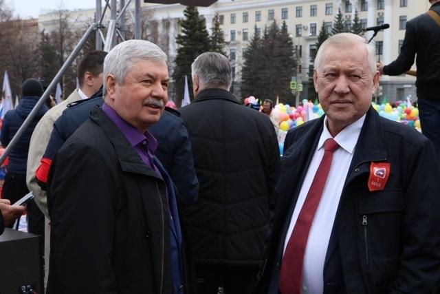 Челябинская область встречает праздник весны и труда митингами, праздничными шествиями, концертам