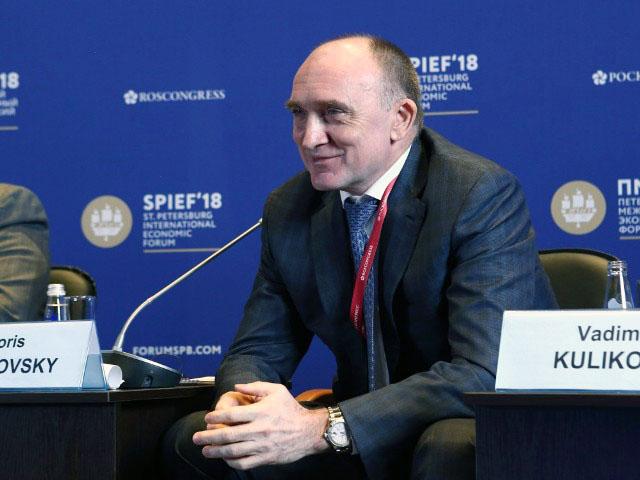 Губернатор Челябинской области Борис Дубровский провел переговоры с представителями крупного росс