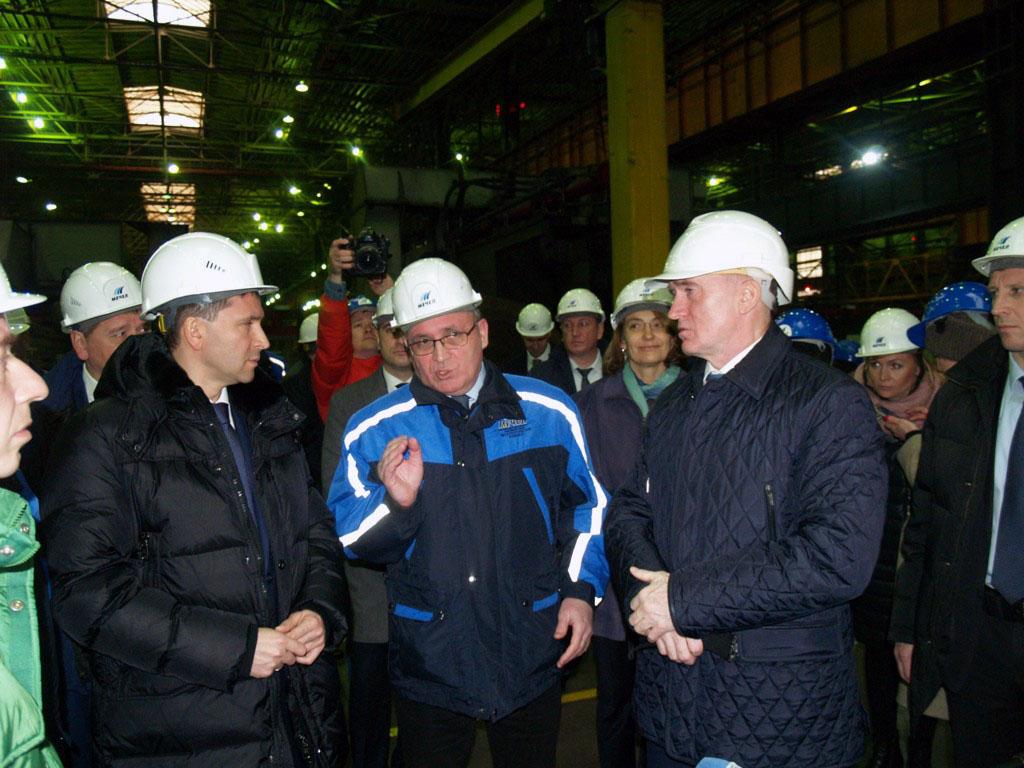В пятницу, 16 ноября, в Челябинске министр природных ресурсов и экологии РФ Дмитрий Кобылкин с ут