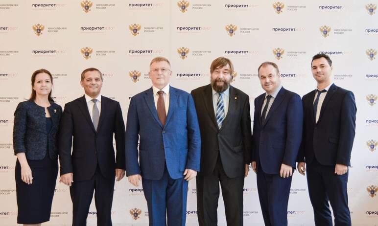 Команда Южно-Уральского государственного университета приняла участие в защите программы «Приорит
