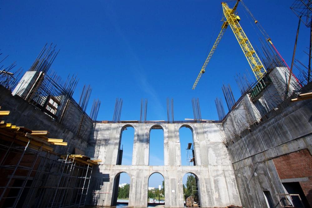 «Мы строим храм, который останется в века. Уже сейчас можно оценить масштабы будущего собора, – п