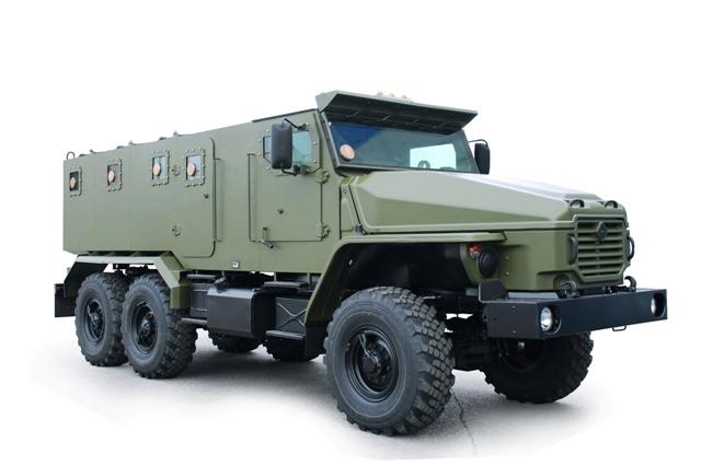 Первая партия автомобилей «Урал-4320ВВ» передана заказчику – Главному