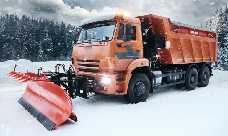 В Челябинской области в ряде муниципалитетов продолжаются снегопады, которые начались в минувшее