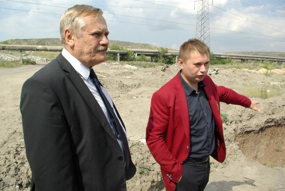 Начальник управления экологического просвещения минэкологии Челябинской области Виталий Б