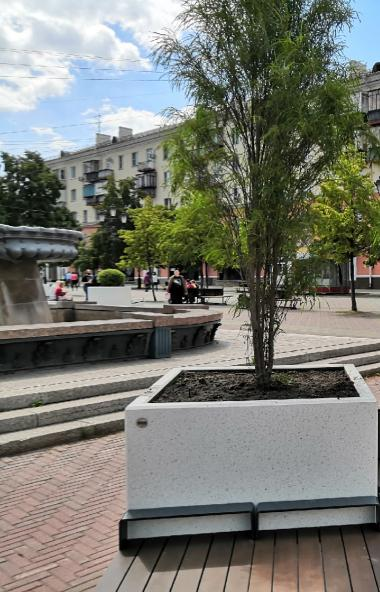 На челябинской Кировке завершается восстановление плиточного покрытия. Окончания работ городские