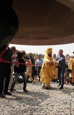 В день памяти равноапостольного князя Владимира и Крещения Руси, 28 июля, в Челябинске состоялось