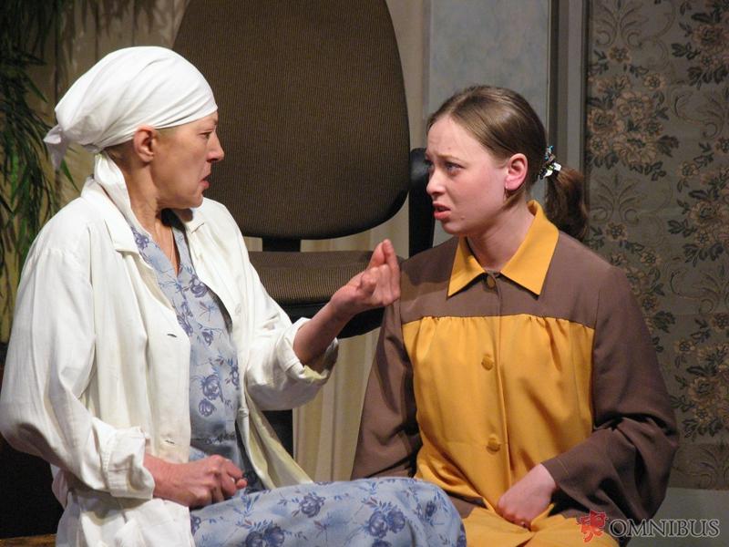Спектакль-долгожитель «Жизнь человеков» (Рождение души) поставлен главным режиссёром театра заслу
