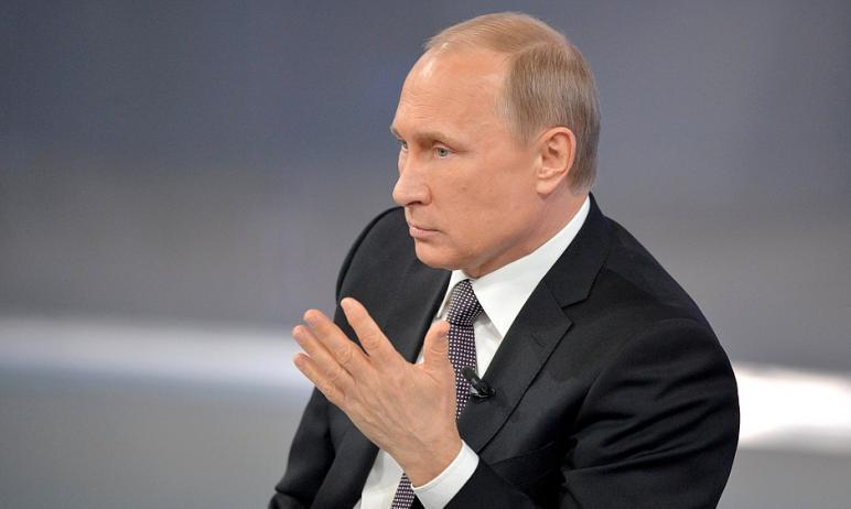 Выступая перед работниками и ветеранами органов прокуратуры президент России Владимир Путин сакце