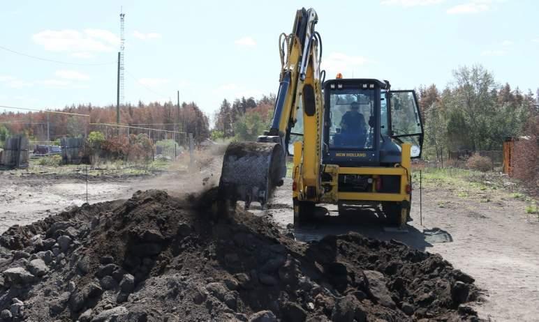 В Карталинском районе (Челябинская область) началось строительство первых домов для жителей посел