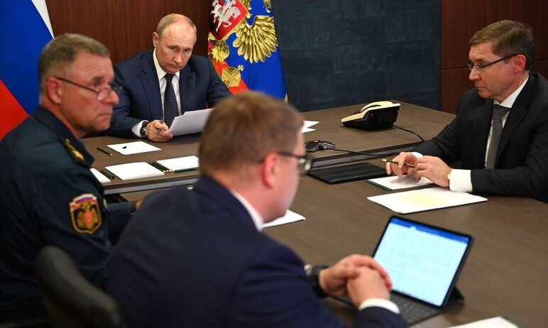 Губернатор Челябинской области Алексей Текслер доложил президенту Владимиру Путину об оказании по