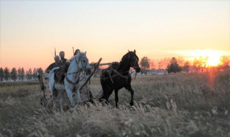 Реконструированная колесница бронзового века отправится в пробег по территории Челябинского госуд