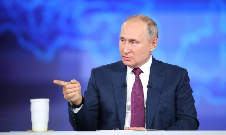 Президенту России Владимиру Путину сегодня, в ходе «Прямой линии» пожаловались на рост преступлен