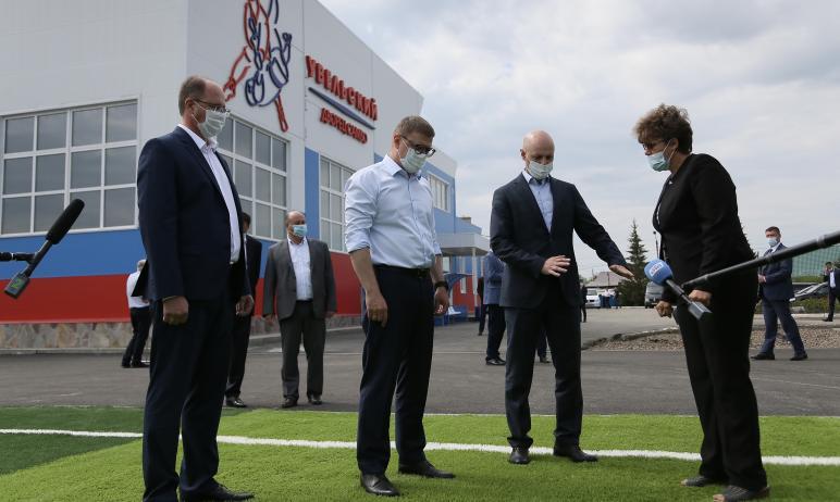 Новые и реконструированные социальные объекты будут введены в эксплуатацию в 2021 году в Увельско