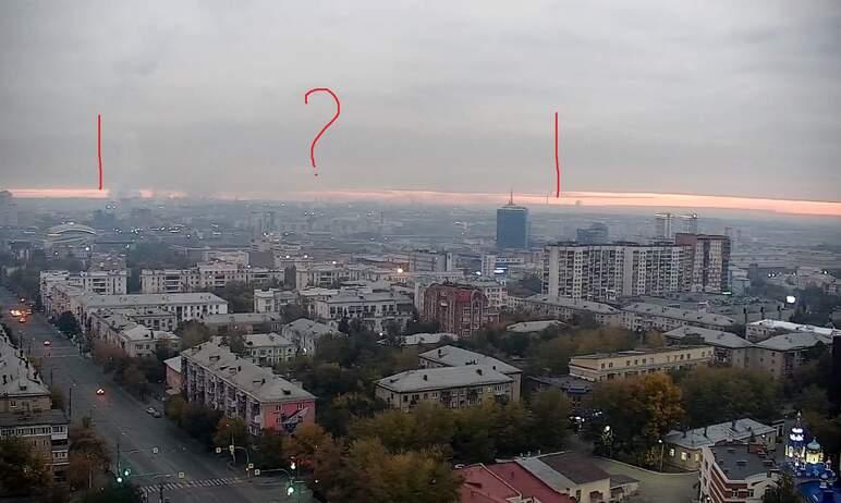 Жители Челябинска жалуются на удушающий запах гари, который преследовал их минувшей ночью и ухудш