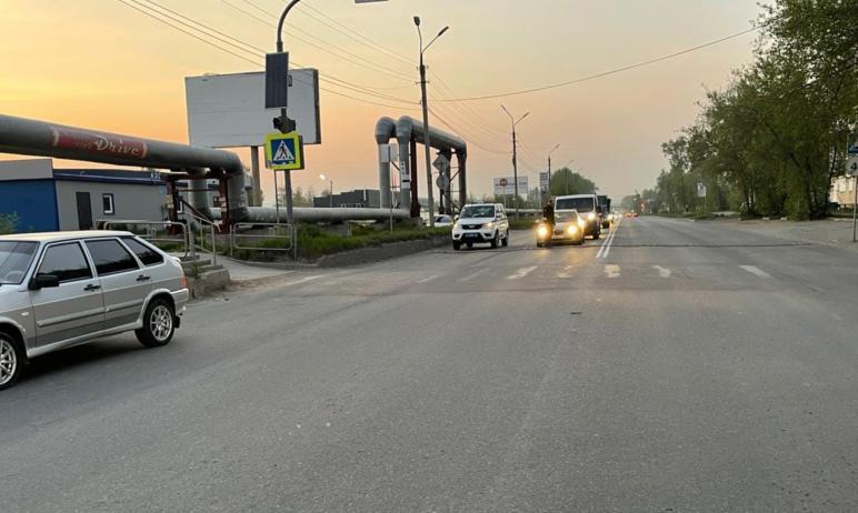 В Миассе (Челябинская область) молодой водитель машины Lada-211440 наехал на 11-летнего ребенка н