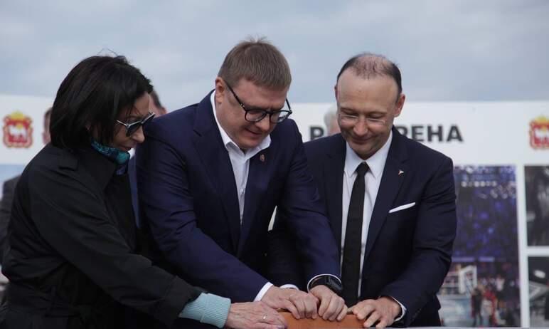 В среду, 15 сентября в Челябинске дан старт строительству «РМК-Арены» – многофункционального спор