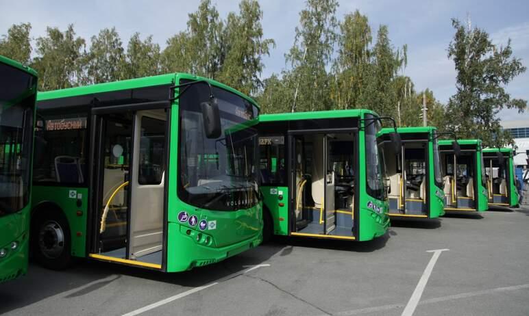 В Челябинске по федеральному проекту «Чистый воздух» поступило тридцать автобусов на газомоторном