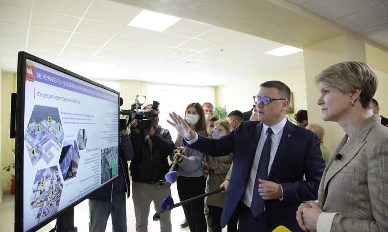 В ближайшие годы в Челябинске будет построен современный межуниверситетский кампус мирового уровн