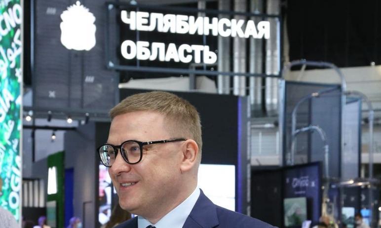 Председатель правительства РФ Михаил Мишустин положительно оценил стенд Челябинской области на ме