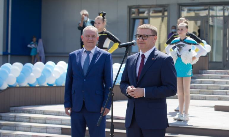 В Челябинске открылся спортивный комплекс «Динамо», который по размеру и уровню оснащения не имее