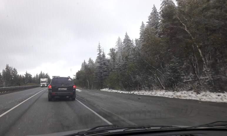 В выходные в отдельных районах Челябинской области прошел мокрый снег с дождем, местами установил