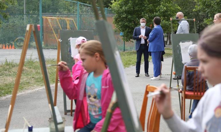 Губернатор Челябинской области Алексей Текслер посетил загородный оздоровительны