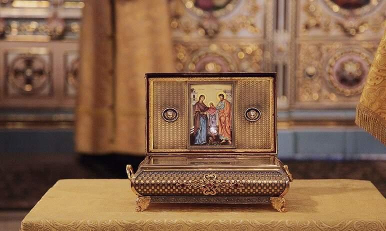 В субботу, 16 октября, в Свято-Симеоновский кафедральный собор Челябинска была доставлена христиа
