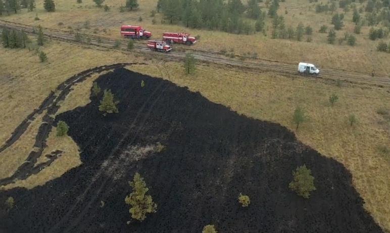 В Челябинской области удалось ликвидировать крупные природные пожары, бушевавшие в течение почти