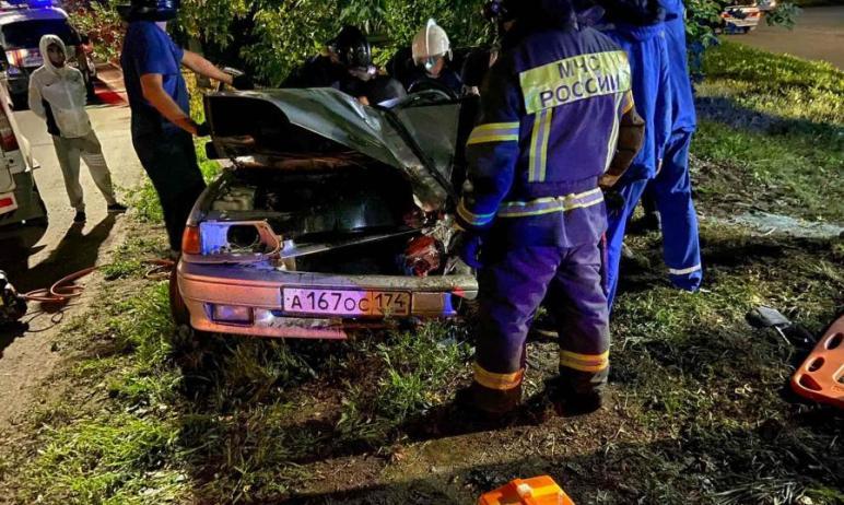 Сегодня ночью, 27 июля, в Челябинске бесправный 23-летний молодой человек, севший за руль машины