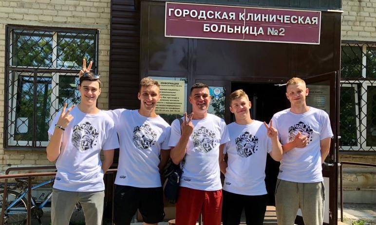 Глава Карабашского городского округа (Челябинская область) Олег Буданов поставил первый компонент