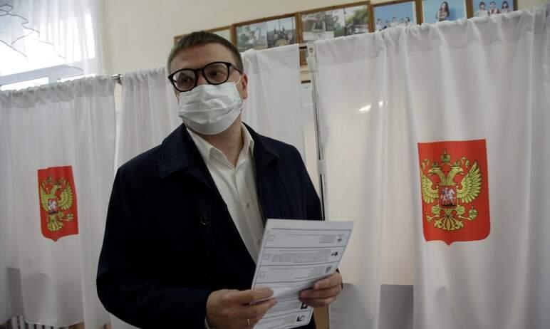 В первый день голосования на выборах депутатов Государственной думы Российской Федерации - в пятн