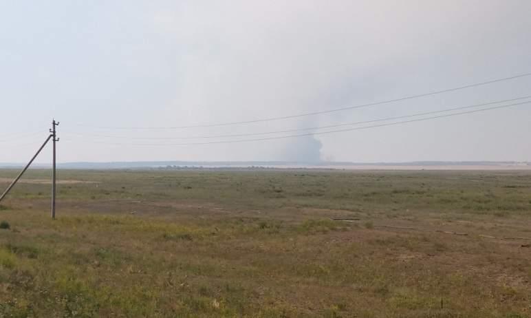 Во вторник, третьего августа, произошло возгорание лесного массива на территории Кортубайского уч