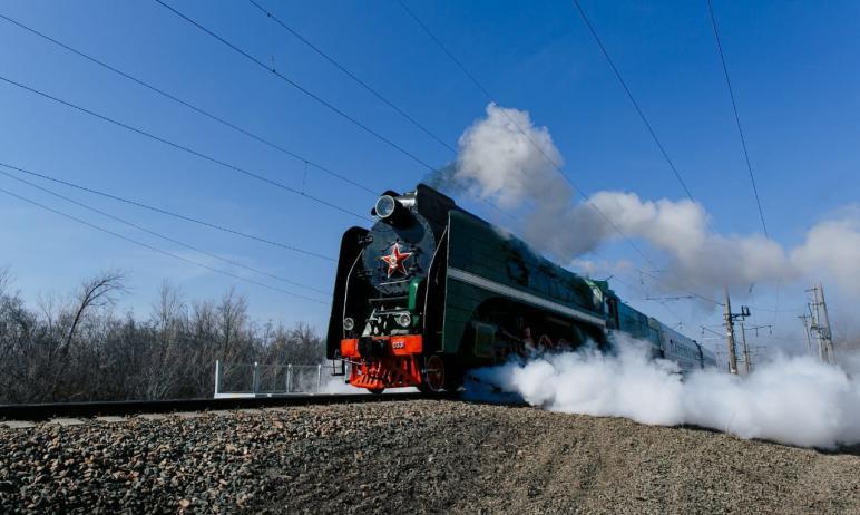 В преддверии Дня Победы, седьмого мая, в Челябинск прибудет «Поезд Победы», который поведет паров