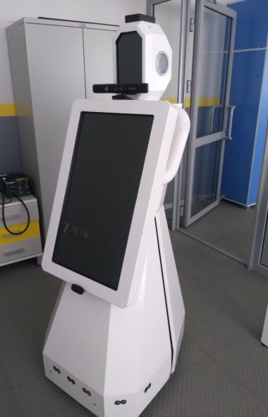 Робот-экскурсовод Айро будет встречать избирателей на одном из участков в Челябинске в единый ден