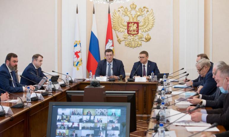 Губернатор Челябинской области Алексей Текслер на заседании выездной комиссии Госсовета по эколог