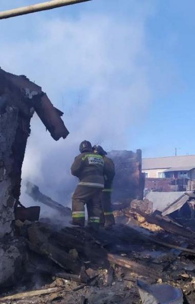Пожар в Агаповском районе (Челябинская область) унес жизнь маленькой девочки. В момент возгорания