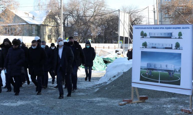 К концу 2021 года в Озерске Челябинской области планируется ввести в эксплуатацию «Ледовую академ